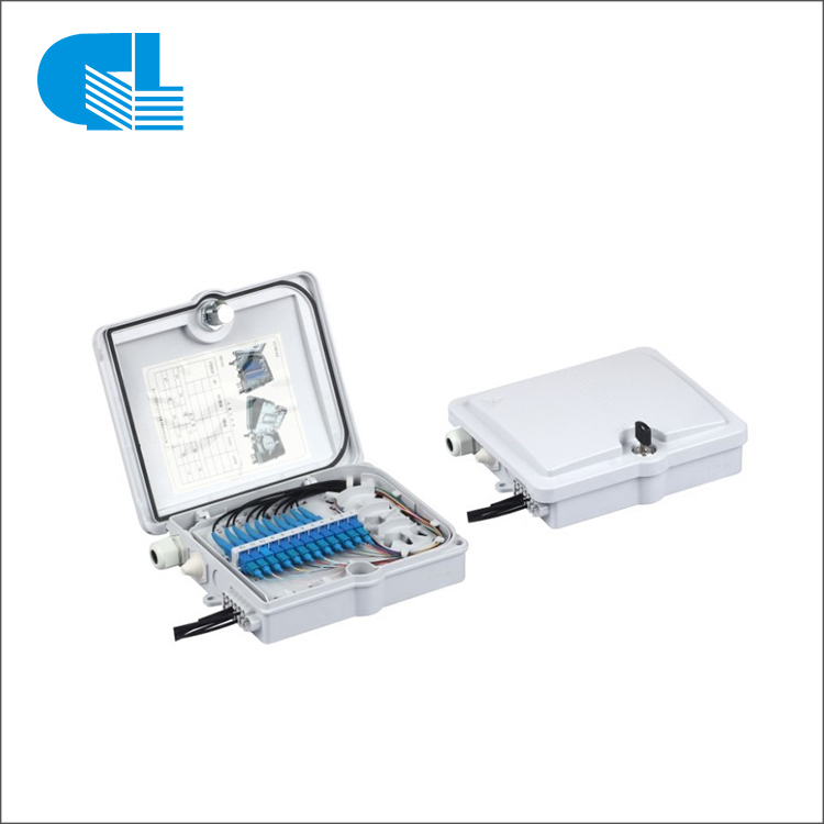 24 Port Indoor FTTH Optic Fiber Distribution Box