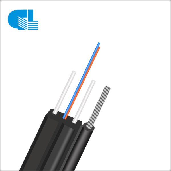 2017 High quality 8 Core Fibre Optics Cable - Outdoor FTTH Self-supporting Bow-type Drop Cable With Steel Wire – GL Technology