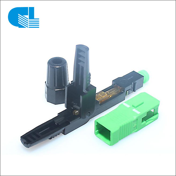 Big discounting Adss Cable Supplier - SC APC UPC Fiber Optic Fast Connector – GL Technology detail pictures