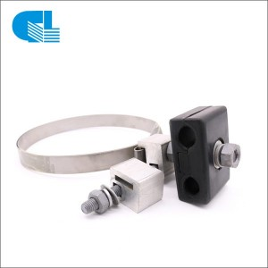 ADSS/OPGW Optical Cable Down-Lead Clamp