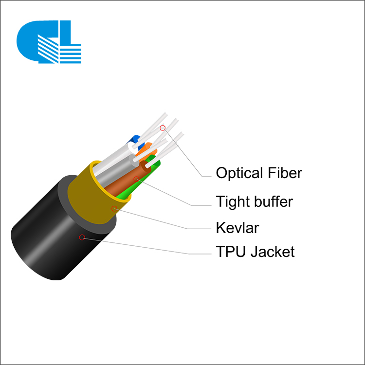 Lowest Price for Cable Tension Clamp - Military Communication System Tactical Fiber Optic Cable – GL Technology detail pictures