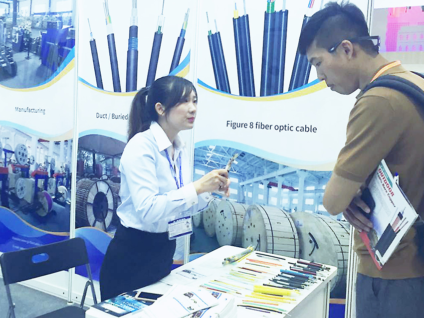 GL Participated In The Optical Cable Exhibition In Vietnam