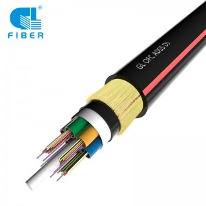 24 Core Aerial Double Layer ADSS Optical Cable