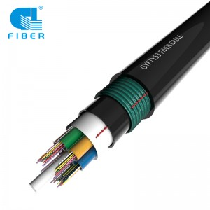 Loose Tube No-metallic Armored Cable GYFTY53