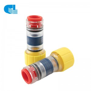 Gas / Water Block Microduct Connectors