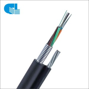 Reasonable price 8 Core Fiber Optic Cable - GYTC8S Figure-8 Cable with Steel Tape – GL Technology