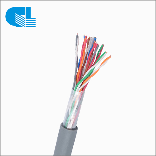 UTP 24 AWG Copper Cat5 Internal 25 Pairs Telephone Cable