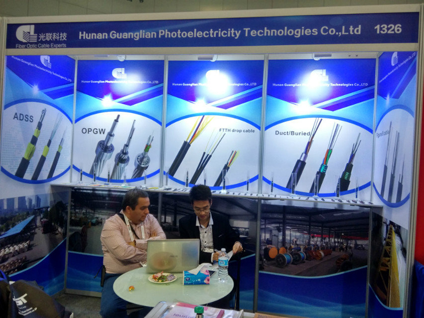 GL Participated In The Optical Cable Exhibition In USA
