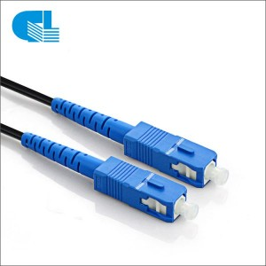 Manufacturer for Fiber Optic Patch Cable Connector Types - G657A FTTH SC UPC Drop Cable Patch cord – GL Technology