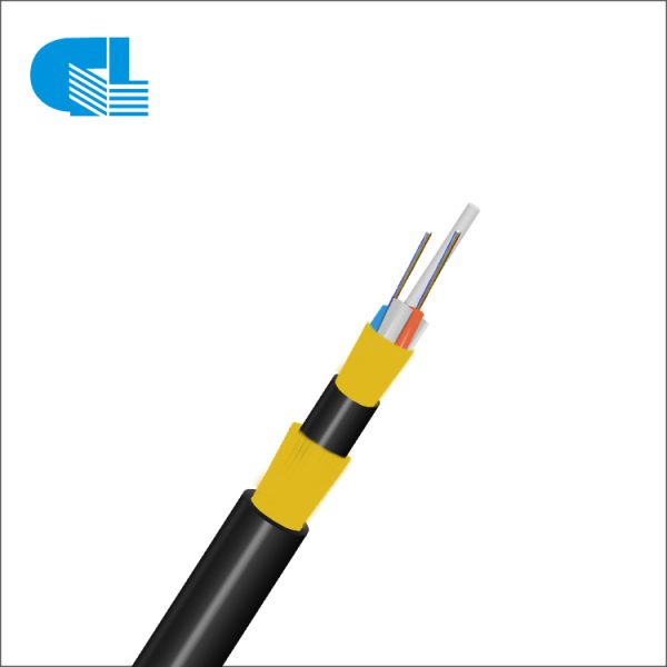 OEM/ODM Factory G652d Adss - Double Layer Aerial ADSS All-Dielectric Self-Supporting Fiber Cable For 150M-1600M Long Span – GL Technology