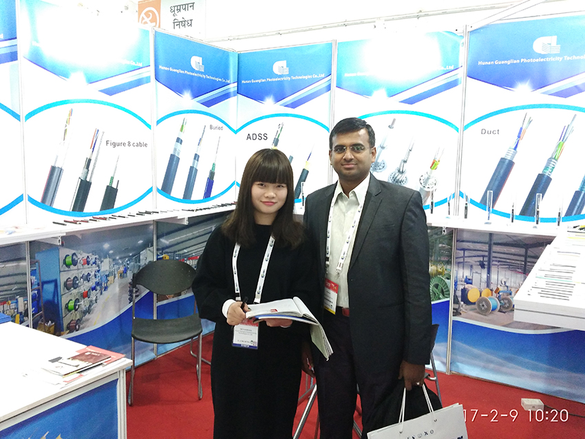 GL Participated In The Optical Cable Exhibition In Indian