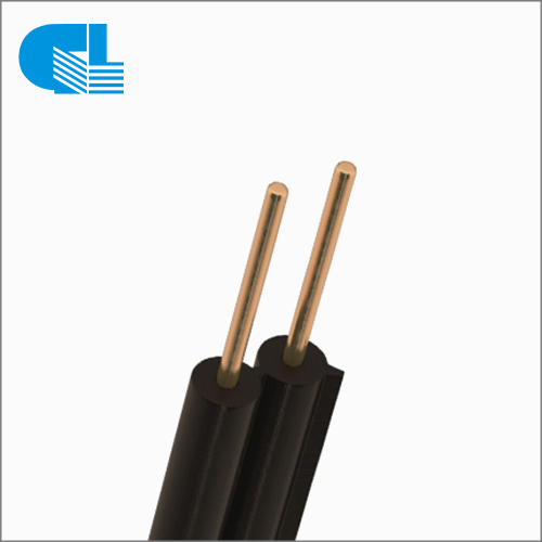 2 Core Outdoor Drop Wire 18AWG/19AWG Conductor Telephone Cable