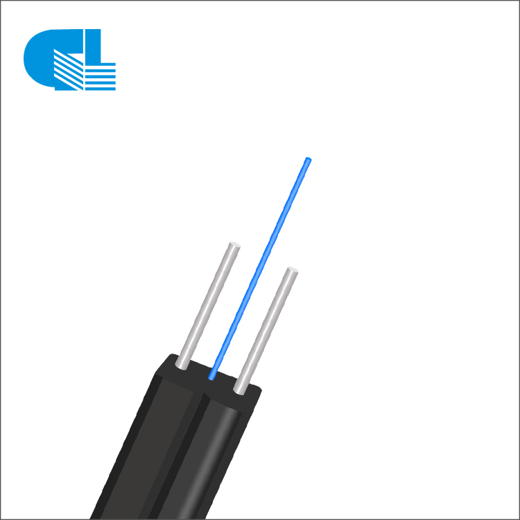 1-12 Core Indoor FTTH Drop Cable With LSZH Jacket