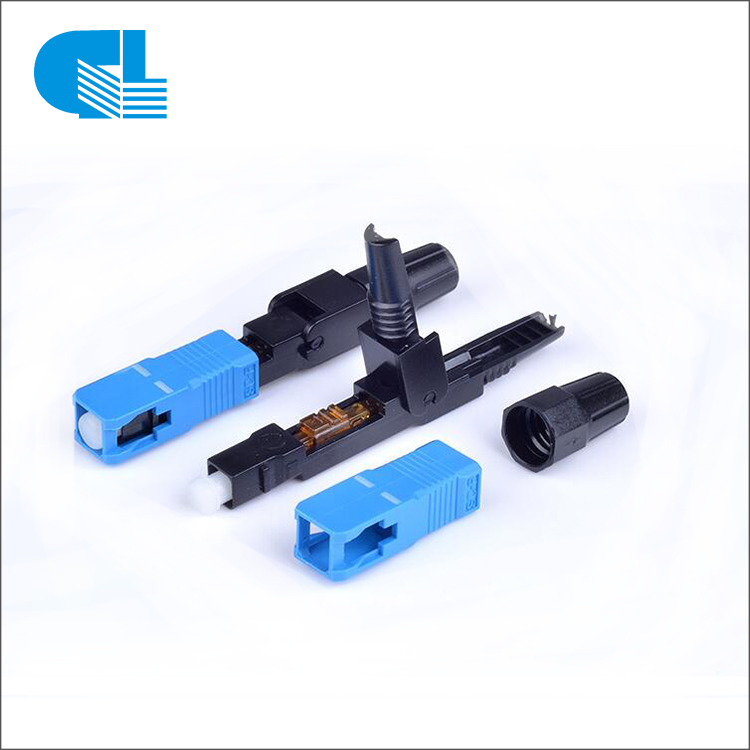 SC APC UPC Fiber Optic Fast Connector