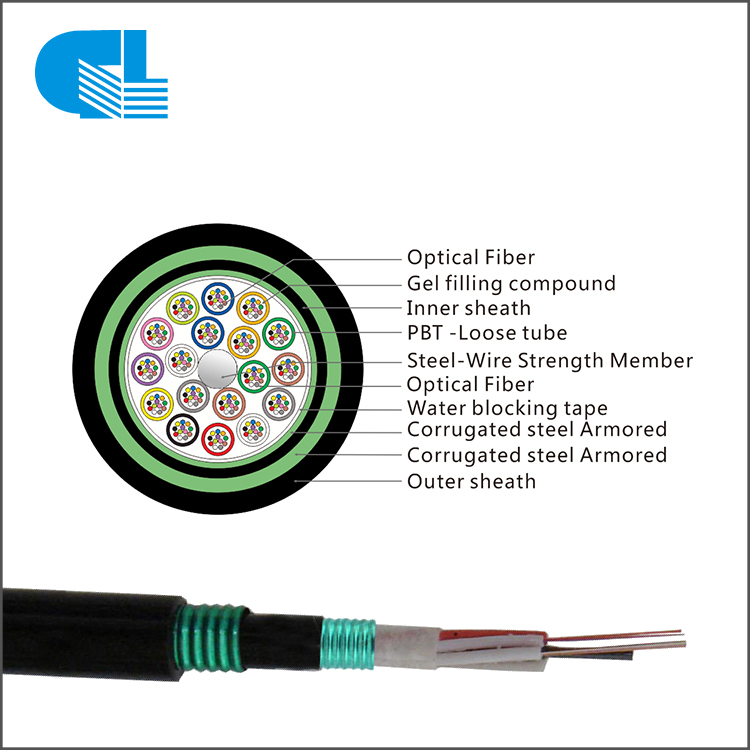 GYTS53 Stranded Loose Tube Cable with Double Steel Tape