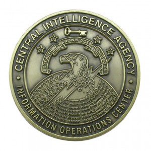 Professional wholesale price anti-gold souvenir coin