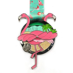 2017 New Style 3d Commemorative Coin - OEM Customized Customized Zinc Alloy Marathon Running Race Medals – Global Art Gifts