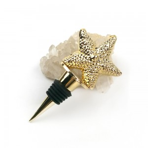 Creative 3D Starfish bottle stopper With starfish