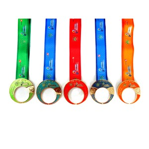 Custom 5 piece Granfondo soft enamel color MEDEAL