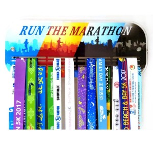 Custom Acrylic Run the Marathon Colorful Medal Hanger