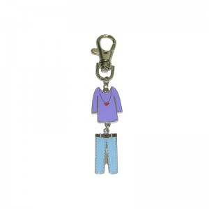 Promotional gifts – creative clothes Soft Enamel Keychain