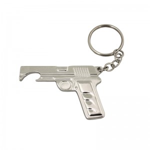 High Bottle kaiwahi i Kounga Metal keychain