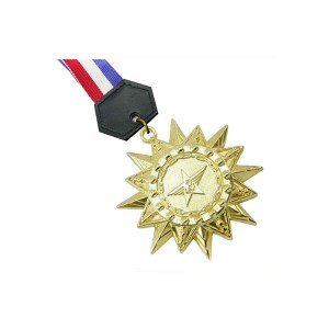 Super Lowest Price Bagage Tag - Custom Plating gold honor medal custom logo for Military Awards – Global Art Gifts