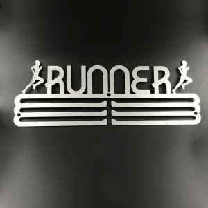 Custom Stainless Steel Runner My Medal Hanger