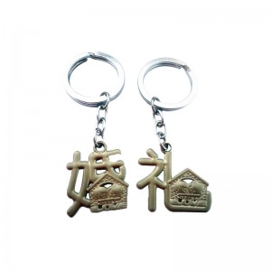 Super Purchasing for factory wholesale Metal led keychain with high quality Customized Design