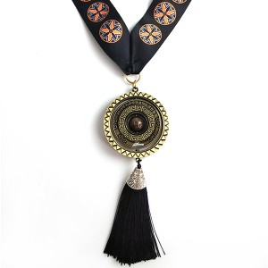 Custom Plating Anti-Gold Spinning Medal with tassel