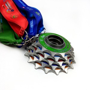 Hot New Products Spinning Medal -
