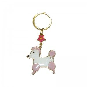 Persónulega Cartoon Cute Animal Keychain