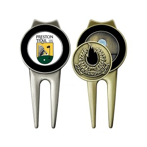 OEM Customized Custom Golf Product With Magnetic Golf Ball Marker Hat Clip