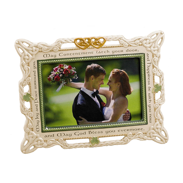 Chinese Professional Acrylic Photo Frames - European Design plating anti-gold photo frame with crystal – Global Art Gifts