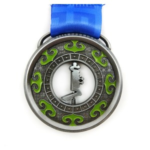 PriceList for Commemorative Bitcoin Coin - Factory made hot-sale Custom Die Casting 3d Spinner 5k Finisher Sport Medal With Ribbon – Global Art Gifts