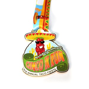 Free Design popular Color printed-Medal