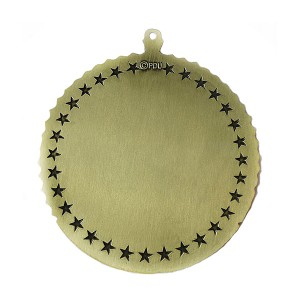 Factory Price For Sport Event Award Custom Antique Brass Baseball Medal