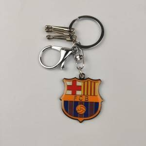 Short Lead Time for Stock Low Moq Hot Sale Soccer Team Club Football Keychain