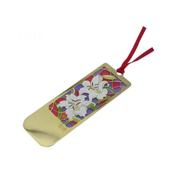factory Outlets for Keychain - High quality Beautiful flower bookmark with soft enamel – Global Art Gifts