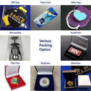Custom Colorful  spinning Moutain Marathon Medal with PVC