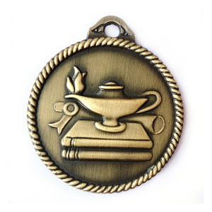 Plating Anti-gold custom logo stock medal
