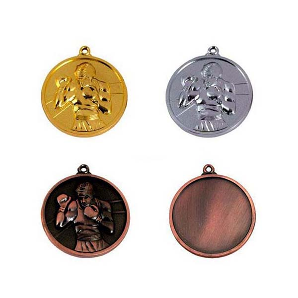 High definition Souvenir Gift Embossed Metal Medal - Various Plated color Style Blank Medal with 3D Sport Men – Global Art Gifts