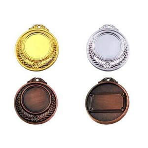 Various Plated color Style Blank Medal with 3D Engraved
