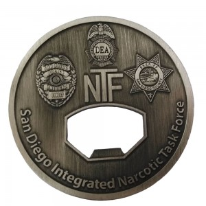China Cheap price Metal Copper Stamping Dies Custom Challenge Coins Antique With Pakistan Air Force Customized