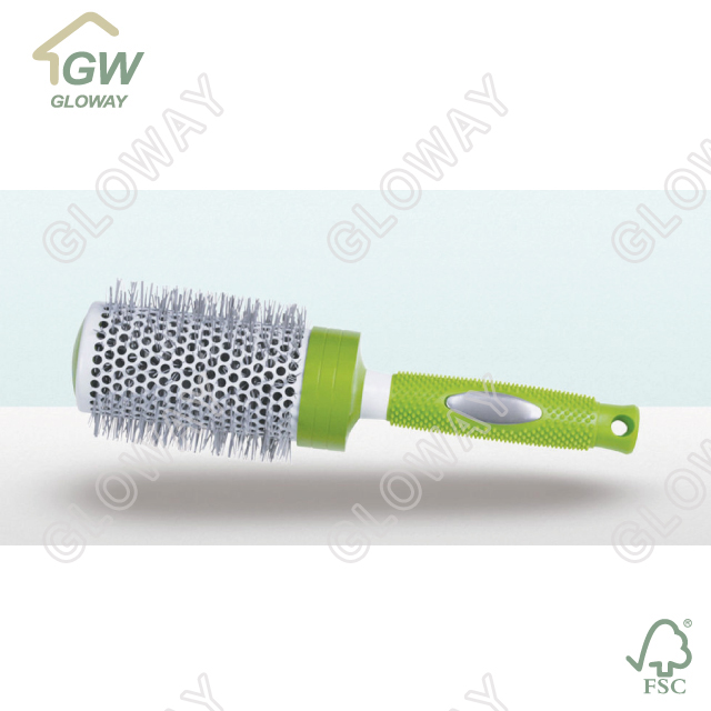 China goods wholesale round hair brush