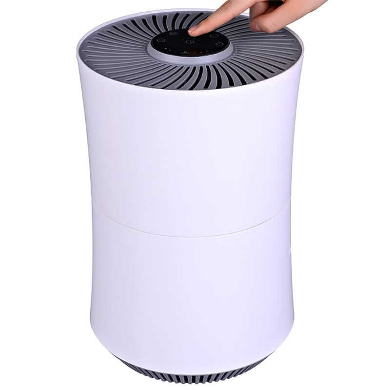 Factory selling Air Ultrasonic Humidifier - GL-2106 Portable Design HEPA Air Purifier for Small Room – Guanglei detail pictures