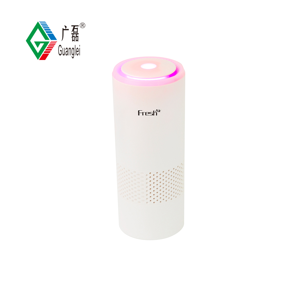 Chinese Professional Gift Air Purifier - GL-529 Portable HEPA lonizer USB Air Purifier-Not Only for Car – Guanglei detail pictures