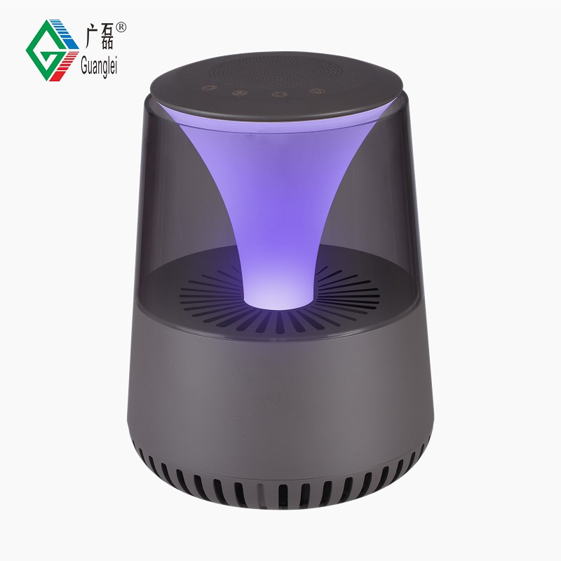 China Supplier Nacklace Air Ionizer - GL-2109 Bluetooth Speaker LED Light HEPA Air Purifier – Guanglei