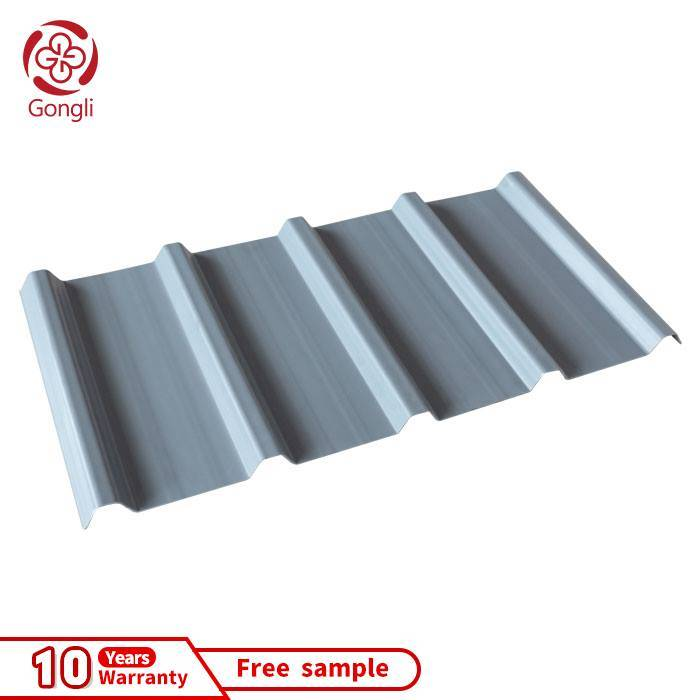 40mm High wave trapezoid UPVC sheet