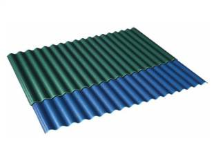 ASAPVC Corrugated Alsado sheet